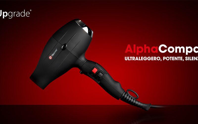 ALPHA COMPACT, TUTTA LA TECNOLOGIA DI UPGRADE CONCENTRATA IN UN ASCIUGACAPELLI